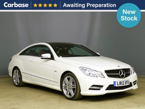 (2012) Mercedes-Benz E Class E350 BlueEFF [306] Sport Edition 125 2dr Tip Auto Panoramic Roof - Luxurious Leather - Bluetooth Connection - Parking Sensors