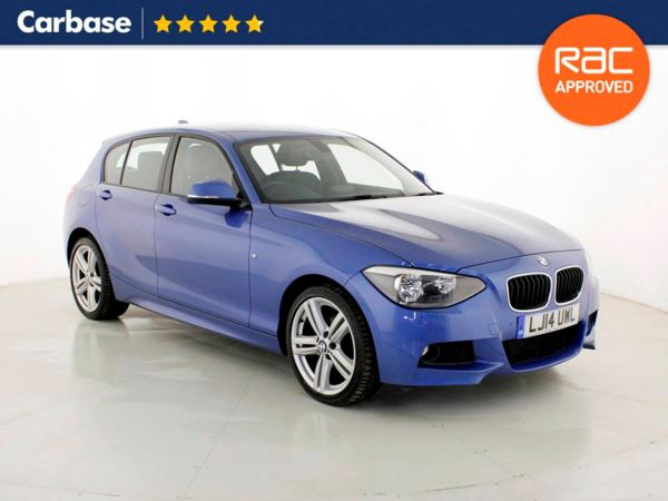 (2014) BMW 1 Series 120d xDrive M Sport 5dr Luxurious Leather - Bluetooth Connection - Parking Sensors - DAB Radio