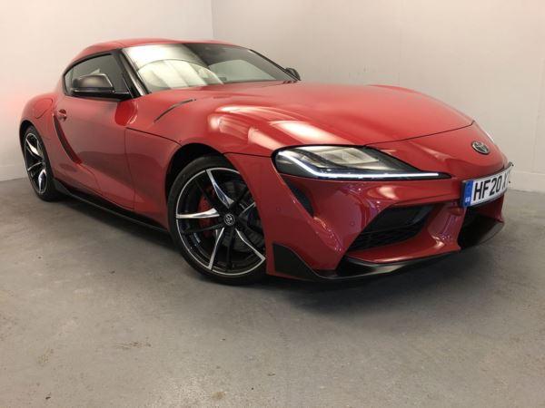 TOYOTA SUPRA 3.0 Pro 3dr Auto (Red)