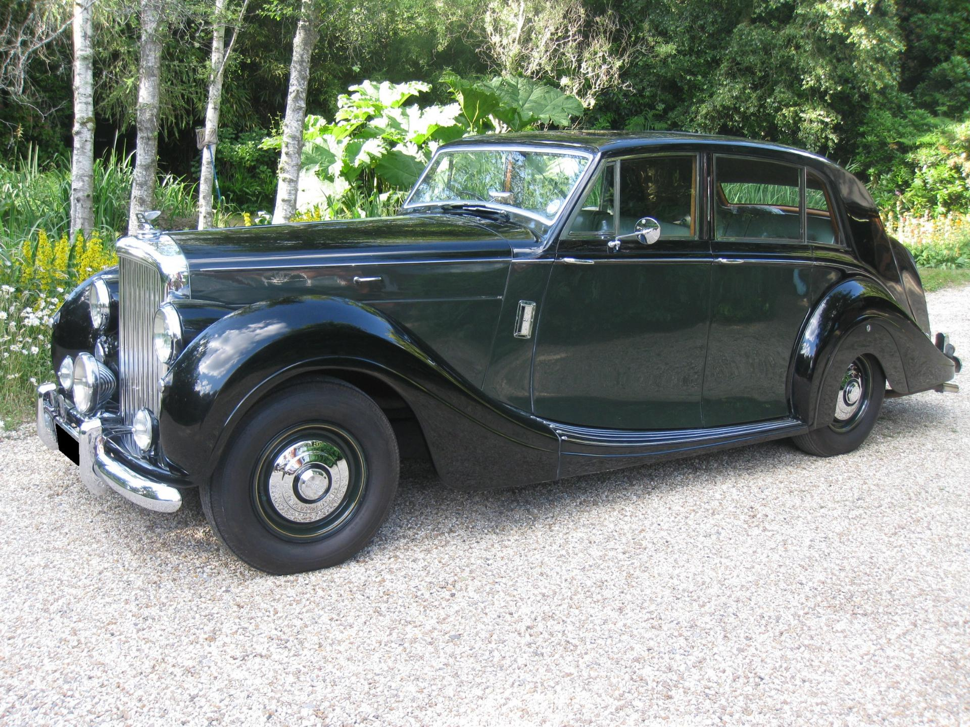 1951 Bentley MKVI Freestone & Webb For Sale In Landford, Wiltshire