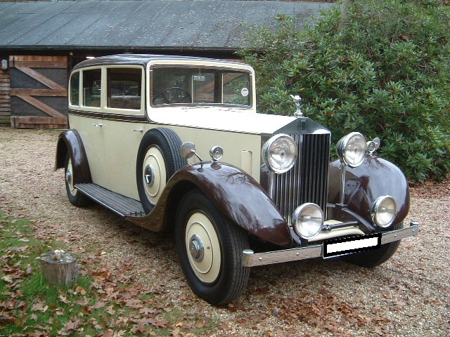 1937 Rolls-Royce 25/30 For Sale In Landford, Wiltshire