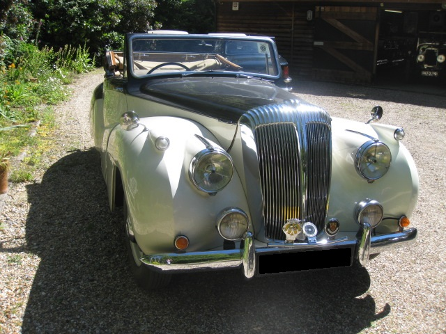 1951 Daimler Special Sports For Sale In Landford, Wiltshire