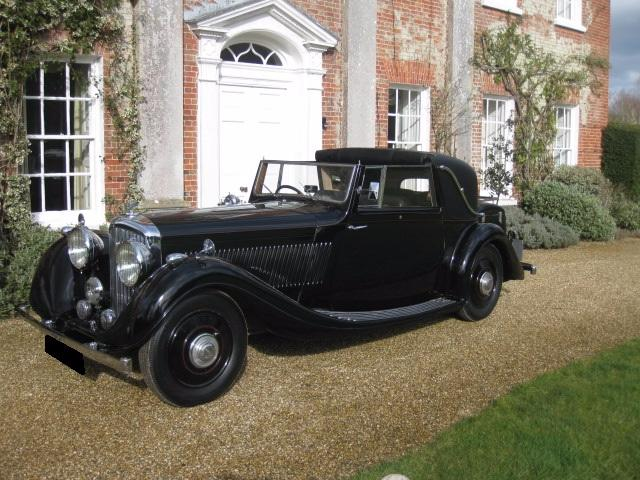 1936 Bentley 4 1/4 OWEN SEDANCA By Gurney Nutting For Sale In Landford, Wiltshire