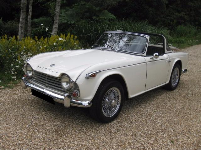 Used Triumph TR4A Surrey Top 2 Doors Convertible for sale in