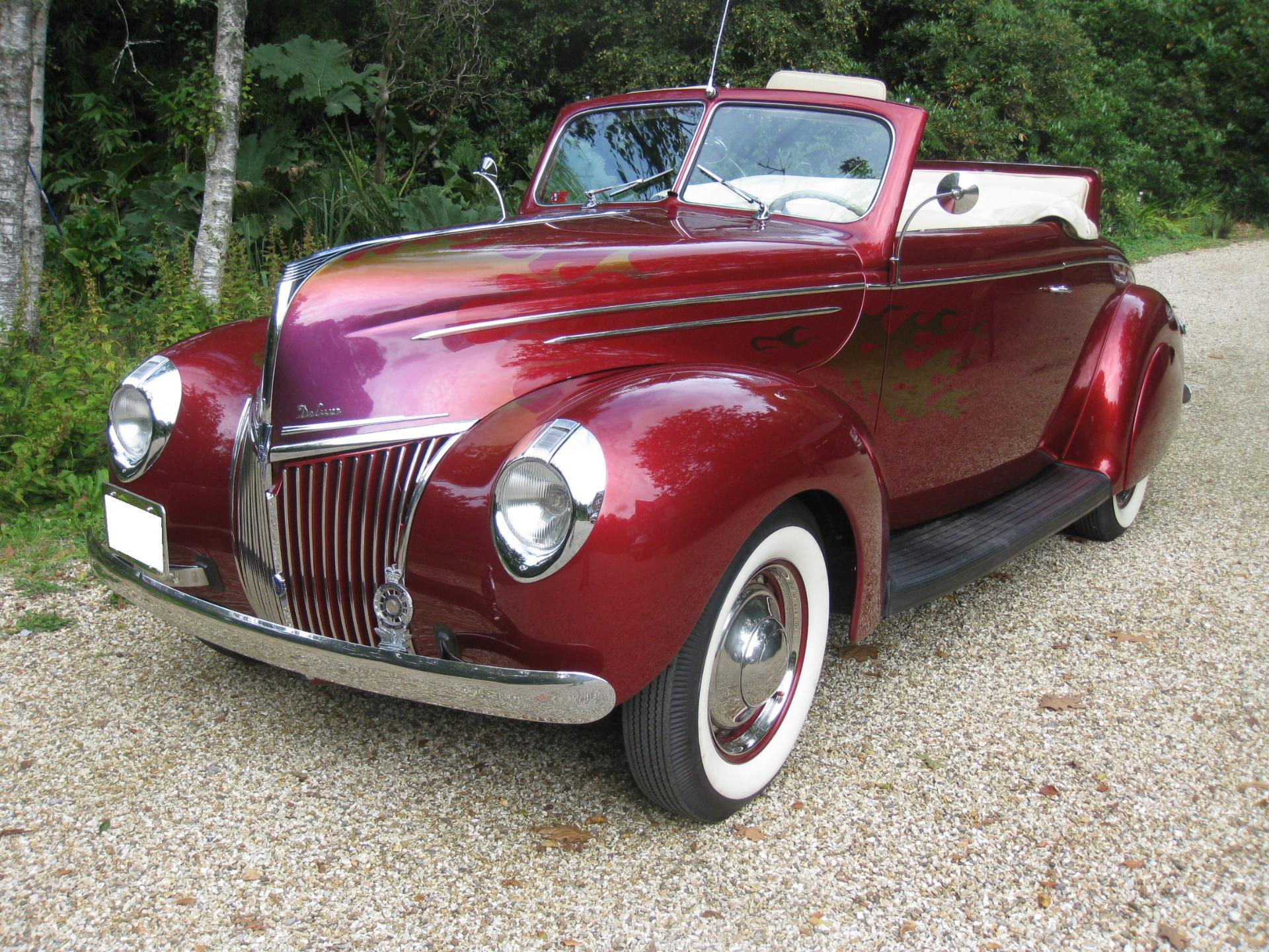 1939 Ford V8 CONVERTIBLE COUPE Flathead For Sale In Call Today, Wiltshire