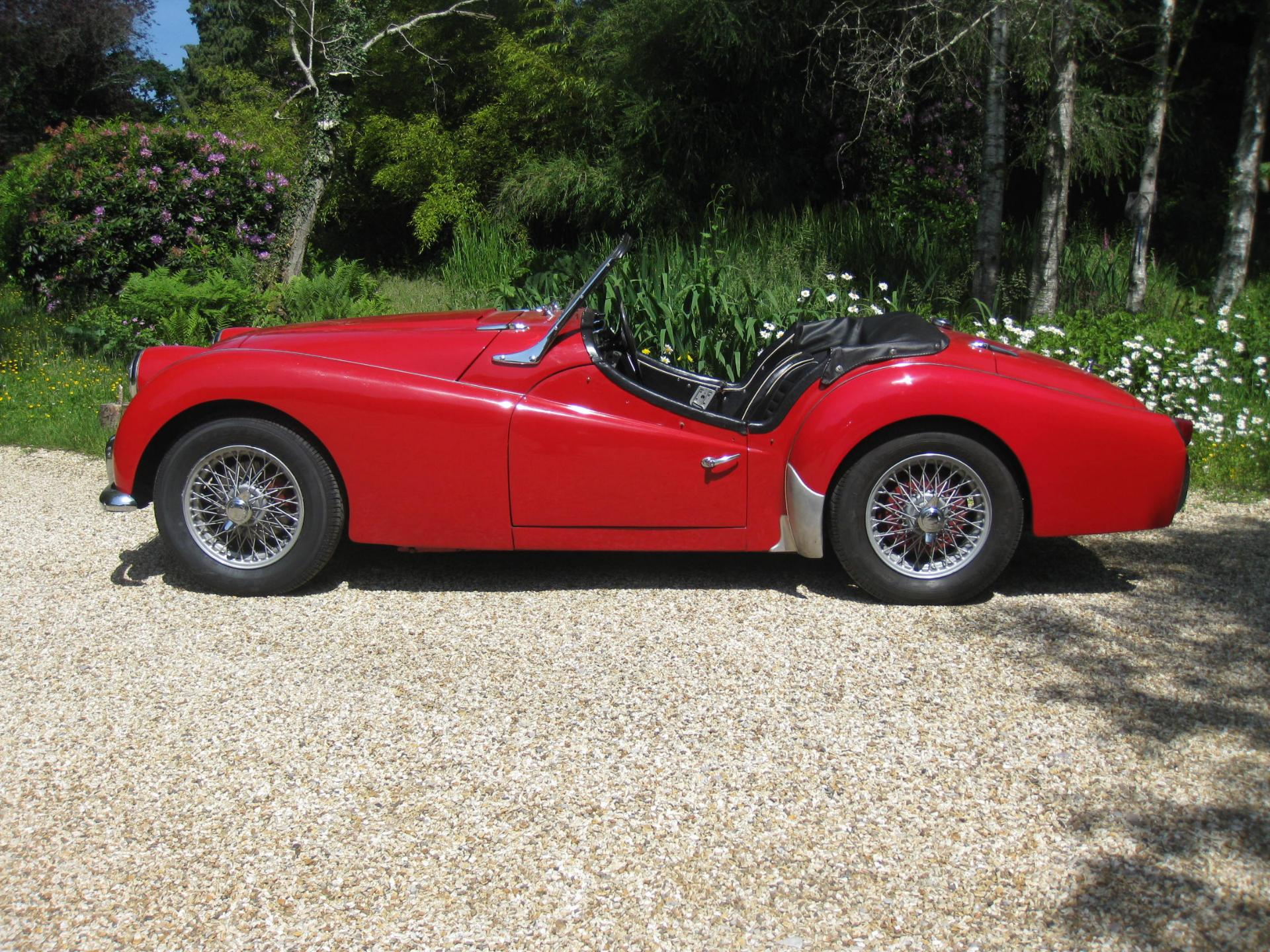 Triumph TR3A Convertible For Sale In Landford, Wiltshire