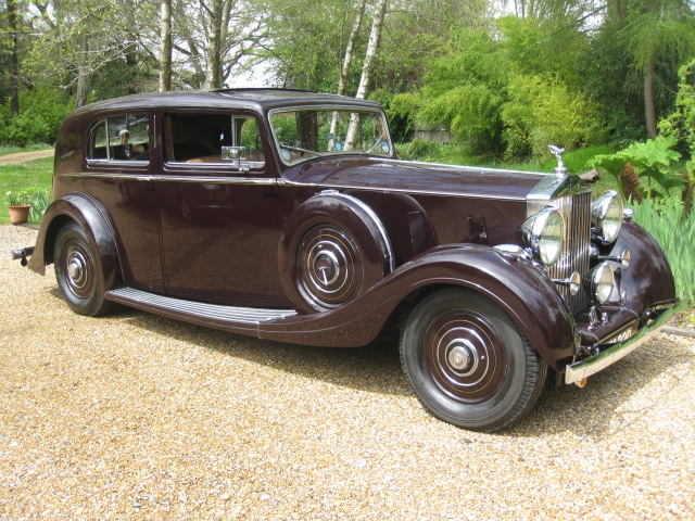 1937 Rolls-Royce Phantom III For Sale In Landford, Wiltshire