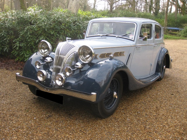 1939 Triumph Dolomite For Sale In Call Today, Wiltshire