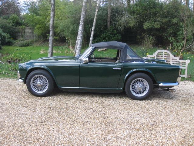 Used Triumph TR4 Doors for sale in Landford, Wiltshire