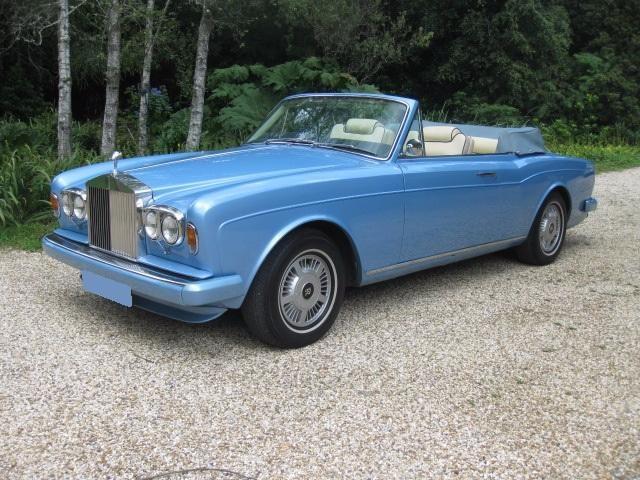 1980 Rolls-Royce Corniche Automatic Convertible For Sale In Landford, Wiltshire