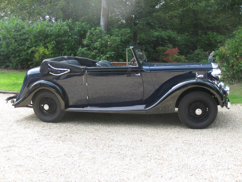 1937 Daimler EL24 3 Position Drophead For Sale In Landford, Wiltshire