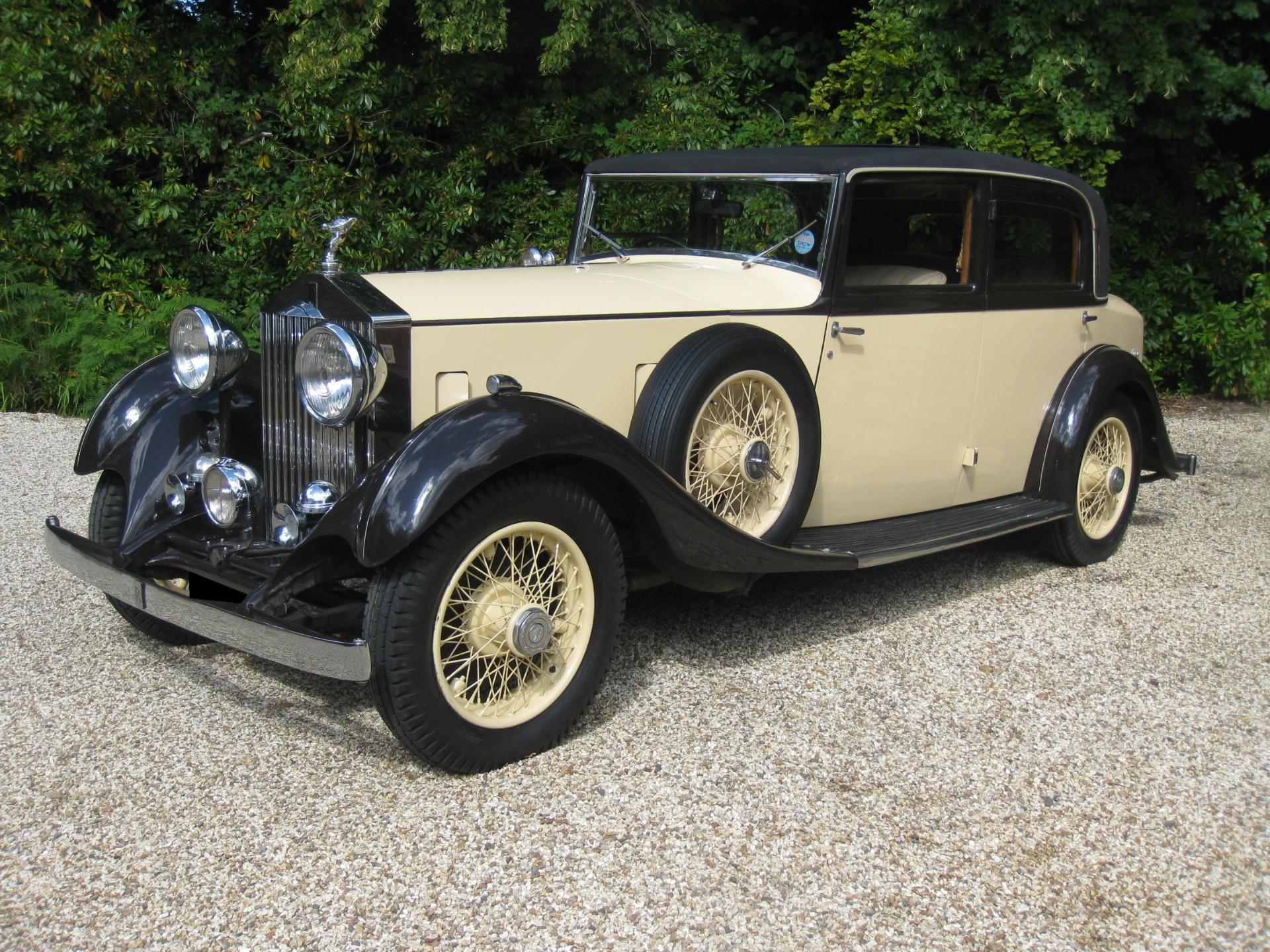 Rolls-Royce 20/25 Sports Saloon For Sale In Call Today, Wiltshire