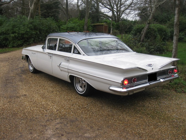 1960 Chevrolet Bel Air Automatic For Sale In Landford, Wiltshire
