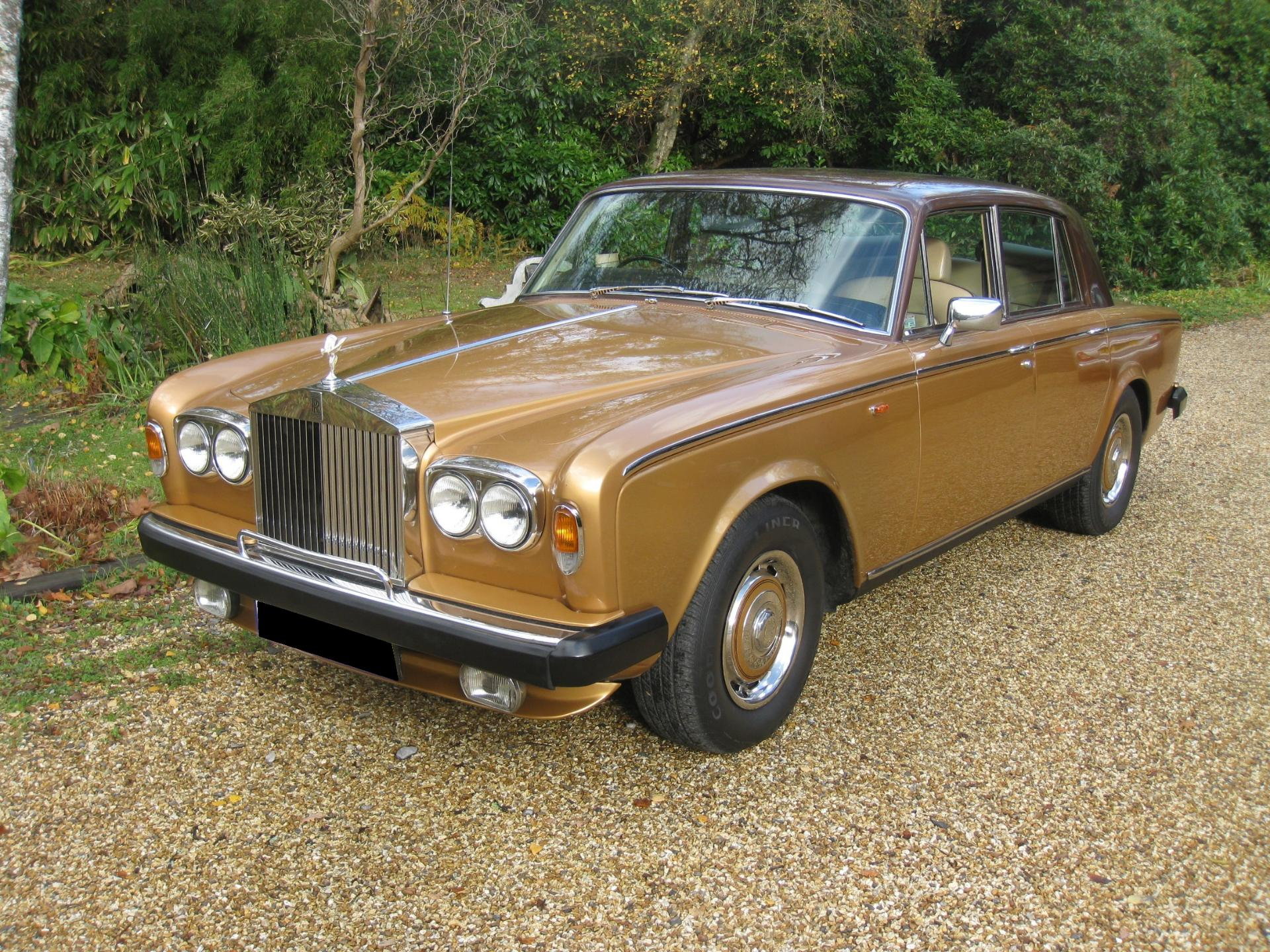1978 Rolls-Royce Silver Shadow Automatic For Sale In Landford, Wiltshire