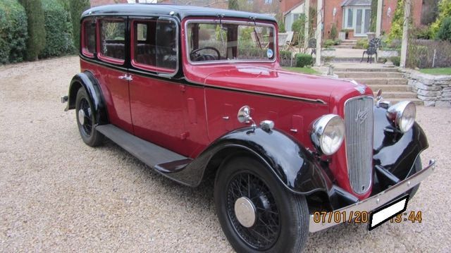 1936 Austin 18/6 York For Sale In Landford, Wiltshire