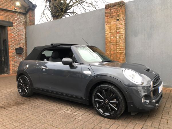 2017 (67) MINI Convertible 2.0 Cooper S 2dr Auto For Sale In 7 Days a Week, From 9am to 7pm