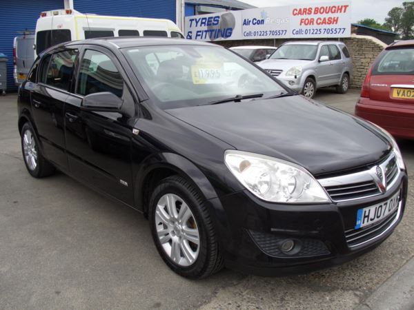 2007 (07) Vauxhall Astra 1.8i VVT Design 5dr Auto For Sale In Melksham, Wiltshire
