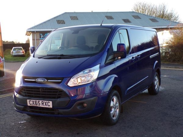2015 (65) Ford Transit Custom 2.2 TDCi 155ps Low Roof Limited Van For Sale In Lincoln, Lincolnshire
