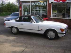 1987 Mercedes 300 SL AUTO Doors Convertible