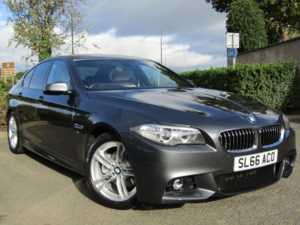 2016 66 BMW 5 Series 520d [190] M Sport 4dr Step Auto 4 Doors SALOON
