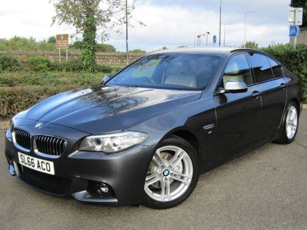 2016 (66) BMW 5 Series 520d [190] M Sport 4dr Step Auto For Sale In Montrose, Angus