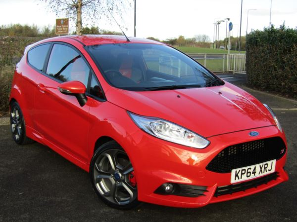 2014 (64) Ford Fiesta 1.6 EcoBoost ST-2 3dr For Sale In Montrose, Angus