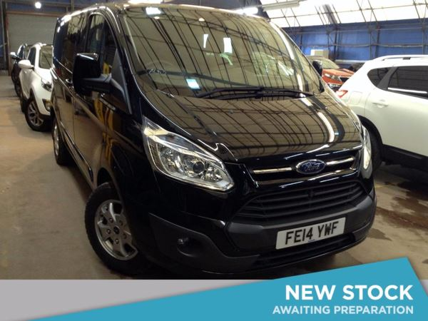 (2014) Ford Transit Custom 2.2 TDCi 125ps Low Roof Double Cab Limited 290 L1 FWD Parking Sensors - Rain Sensor - Cruise Control - Air Conditioning - 1 Owner