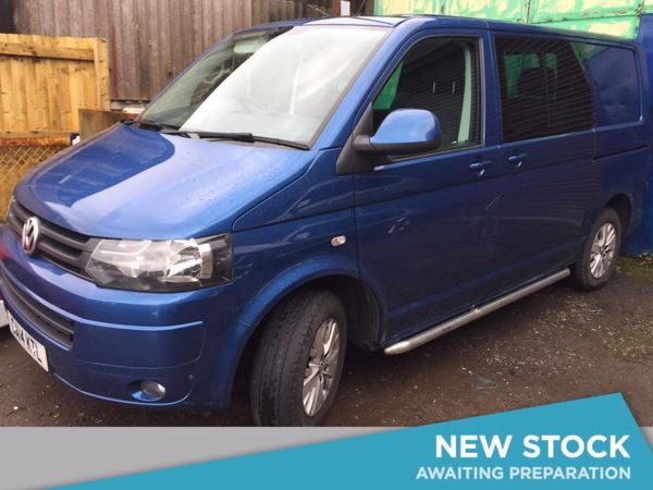 (2014) Volkswagen Transporter 2.0 TDI 140PS Highline T30 SWB Kombi DSG Bluetooth Connection - Climate Control - Air Conditioning - 1 Owner