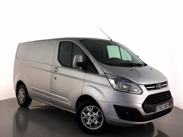(2014) Ford Transit Custom 2.2 TDCi 125ps Low Roof Limited - SWB Low Roof Ply Lining - Parking Sensors - Rain Sensor - Cruise Control - Air Conditioning