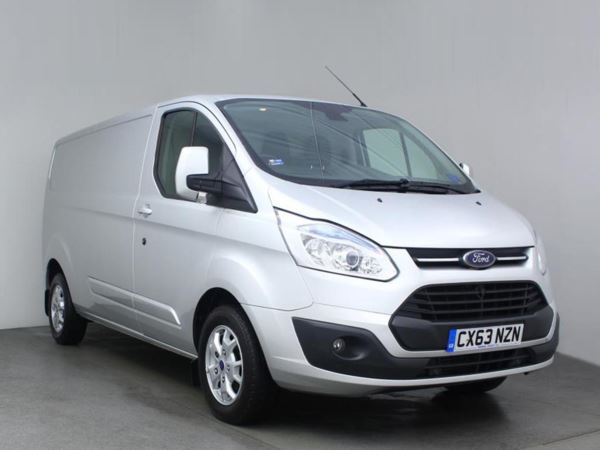 (2013) Ford Transit Custom 2.2 TDCi 290 L2H1 Limited Van LWB 1 Owner - Low Miles - Parksensors - Cruise - Aircon