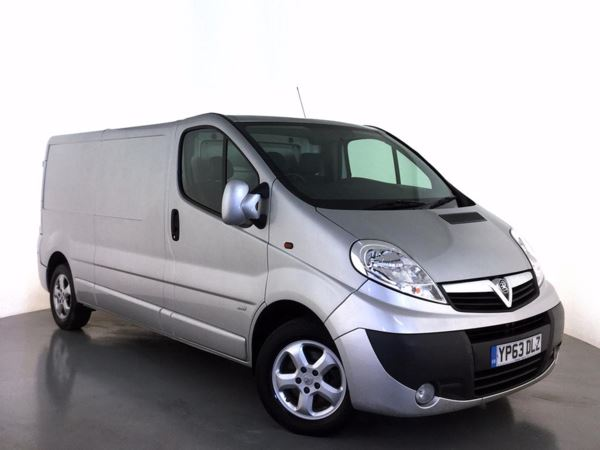 (2014) Vauxhall Vivaro 2.0CDTI [115PS] Sportive Van 2.9t LWB Euro 5 Air Conditioning - 1 Owner