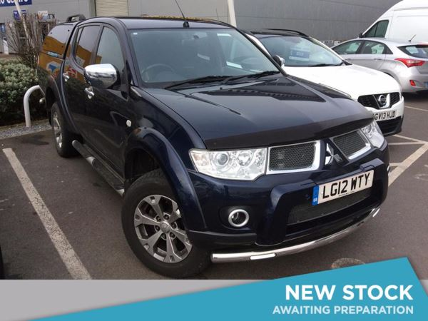(2012) Mitsubishi L200 Double Cab DI-D Barbarian 4WD Auto 176Bhp Satellite Navigation - Luxurious Leather - Climate Control - Air Conditioning