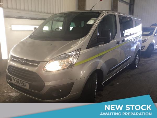 (2014) Ford Transit Custom 2.2 TDCi 125ps 290 Long Wheelbase FWD Low Roof Double Cab Trend Van Cruise Control - 1 Owner