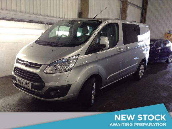 (2014) Ford Transit Custom 2.2 TDCi 125ps Low Roof D/Cab Limited Parking Sensors - Rain Sensor - Cruise Control - Air Conditioning - 1 Owner