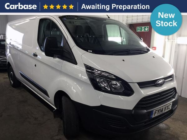 (2014) Ford Transit Custom 2.2 TDCi 125ps 290 L2 FWD Low Roof Van Long Wheelbase £695 Of Extras - Parking Sensors - Cruise Control - 1 Owner