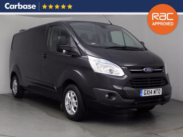 (2014) Ford Transit Custom 2.2 TDCi 125ps Low Roof 290 L2 Long Wheelbase FWD Limited Van Parking Sensors - Rain Sensor - Cruise Control - Air Conditioning - 1 Owner