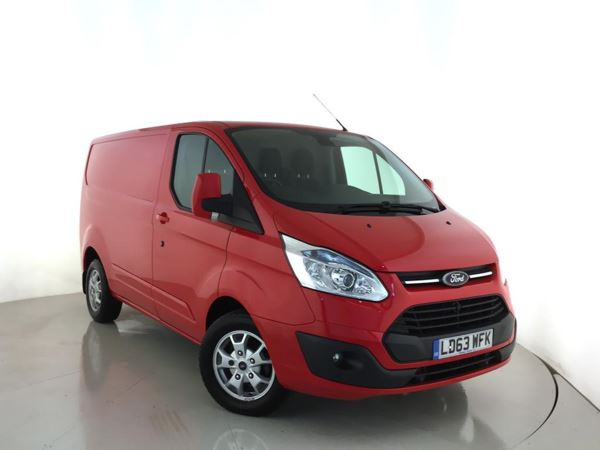 (2013) Ford Transit Custom 2.2 TDCi 125ps Low Roof 290 L1 Limited Rain Sensor - Cruise Control - Air Conditioning - 1 Owner
