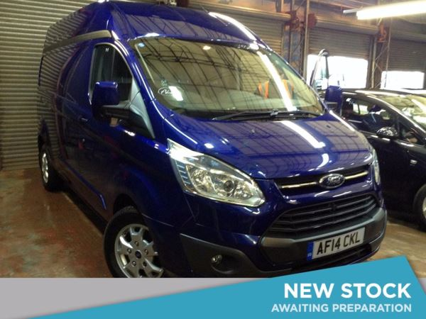(2014) Ford Transit Custom 2.2 TDCi 125ps High Roof 290 L2 FWD Limited Parking Sensors - Rain Sensor - Cruise Control - Air Conditioning - 1 Owner