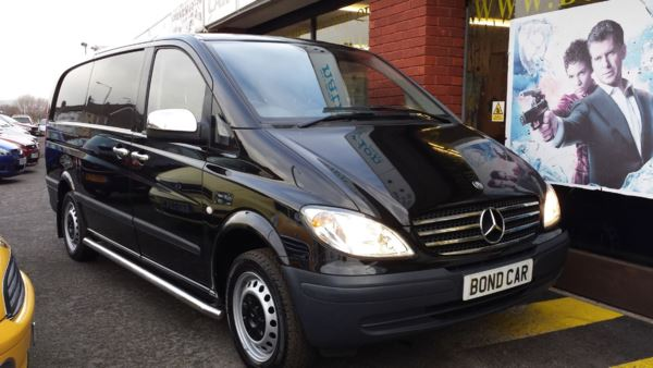 2010 (60) Mercedes-Benz Vito 115 CDI LONG WHEEL BASE DEISEL For Sale In Swansea, Glamorgan