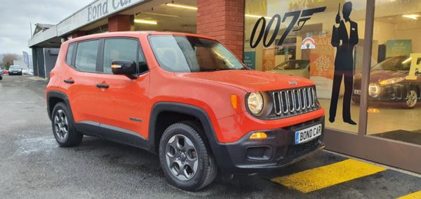 2017 (17) Jeep Renegade 1.6 E-torQ Sport 5dr For Sale In Swansea, Glamorgan