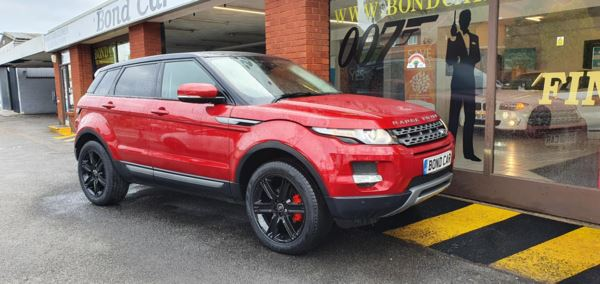 2012 (62) Land Rover Range Rover Evoque 2.2 TD4 Pure 5dr [Tech Pack] Nav For Sale In Swansea, Glamorgan