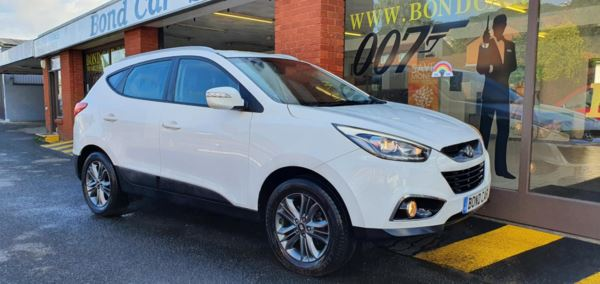 2014 (14) Hyundai Ix35 1.7crdi SE 5dr 2wd (Low Mileage) For Sale In Swansea, Glamorgan