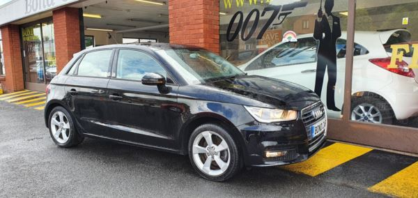 2015 (15) Audi A1 1.6 TDI Sport 5dr Free Road Tax 76 mpg Phone Connectivity For Sale In Swansea, Glamorgan