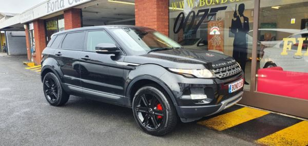 2012 (12) Land Rover Range Rover Evoque 2.2 eD4 Pure 5dr 2WD Phone Conectivity For Sale In Swansea, Glamorgan