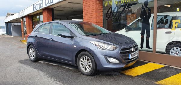 2016 (16) Hyundai i30 1.6 CRDi Blue Drive SE 5dr FREE ROAD TAX 78mpg For Sale In Swansea, Glamorgan