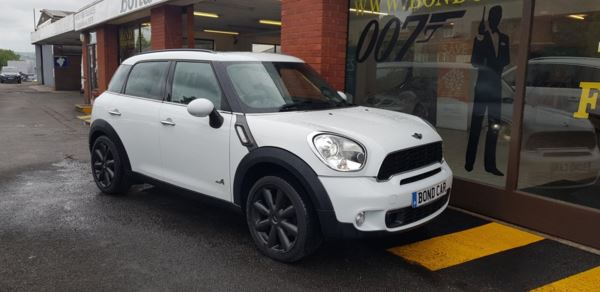 2012 (62) MINI Countryman 2.0 Cooper S D ALL4 5dr Auto Sat Nav (very high spec) For Sale In Swansea, Glamorgan