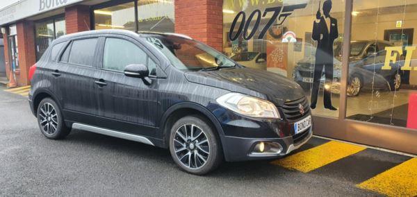 2014 (64) Suzuki SX4 S-Cross 1.6 DDiS SZ-T 5dr Nav/Phone £20 Tax 68mpg For Sale In Swansea, Glamorgan