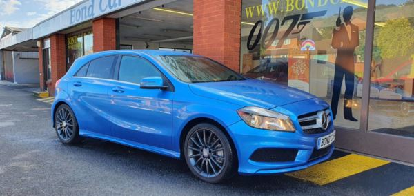 2014 (14) Mercedes-Benz A Class A220 CDI BlueEFFICIENCY AMG Sport 5dr Auto For Sale In Swansea, Glamorgan