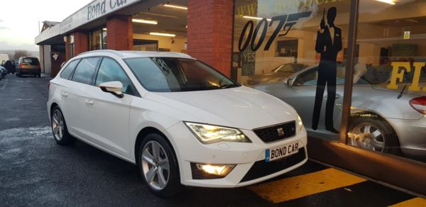 2015 (15) SEAT Leon 2.0 TDI FR [Technology Pack] Nav £20 Tax For Sale In Swansea, Glamorgan