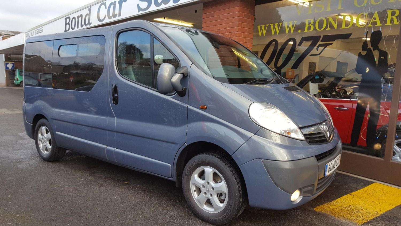 2011 (61) Vauxhall Vivaro SPECIAL COMBI 2.0 CDTI WAV / CREW CAB / CAMPER For Sale In Swansea, Glamorgan